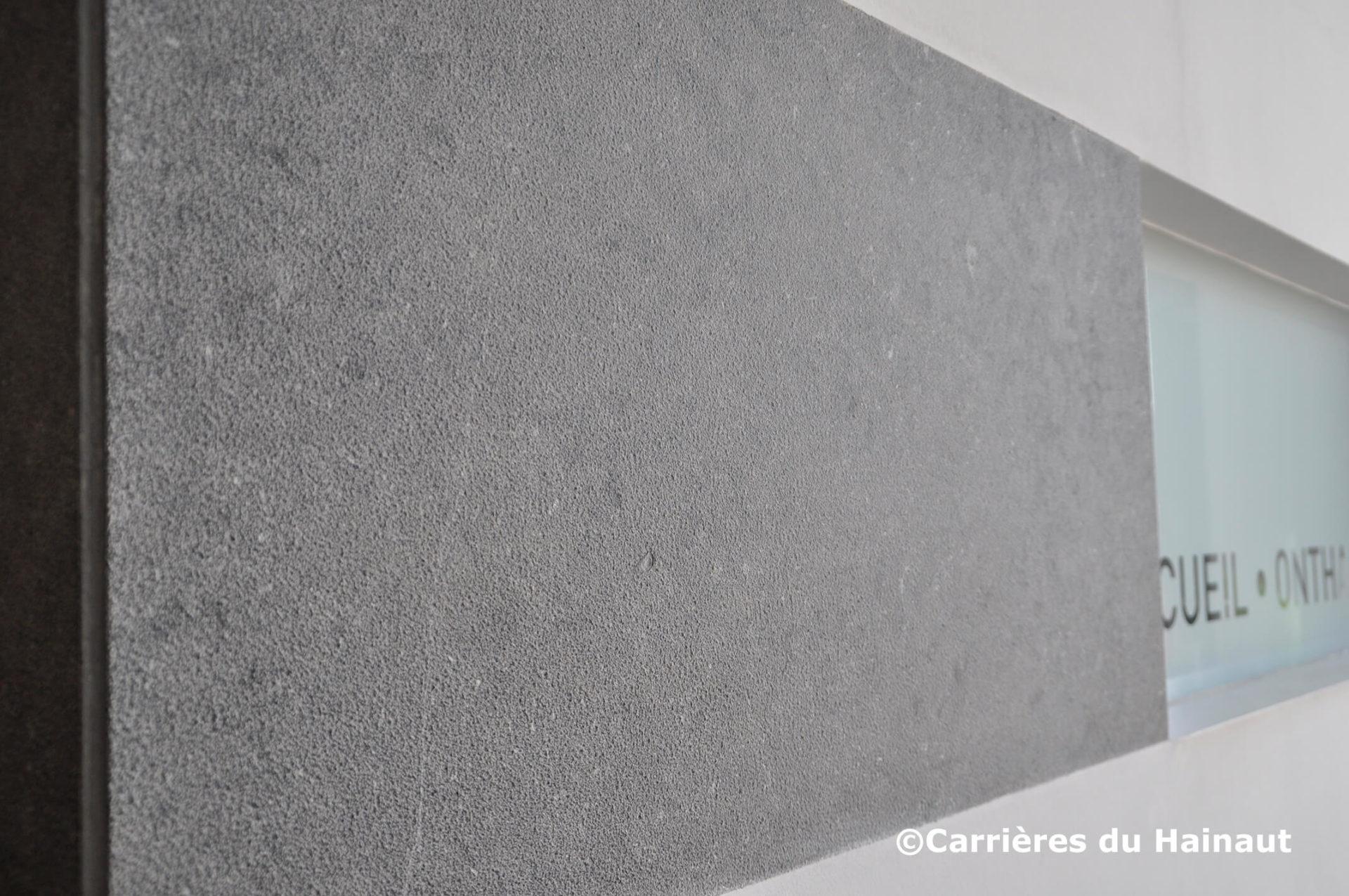 Mur pierre bleue EnoDesign
