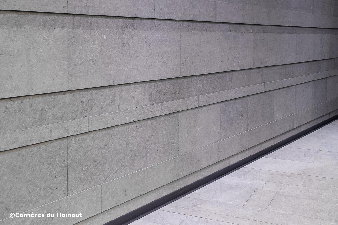 Mur pierre bleue EnoSkin