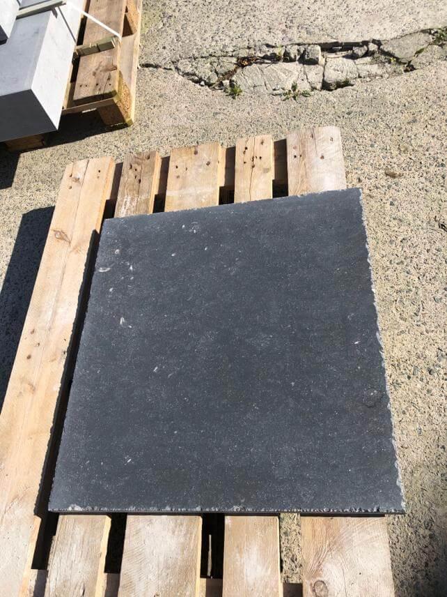 Dalles pierre bleue Noir Davant